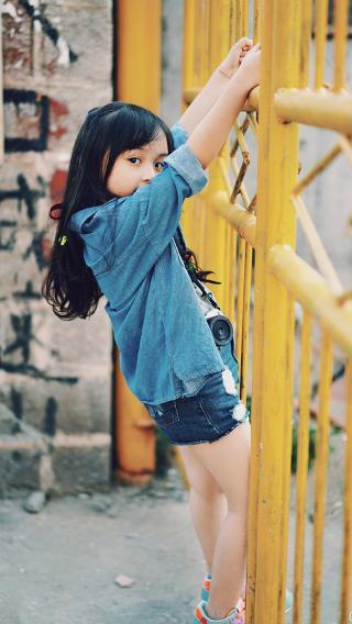 可爱 刘楚恬 小女孩