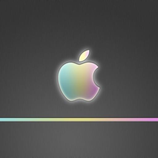 苹果壁纸 logo