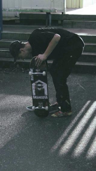 滑板少年 体育运动