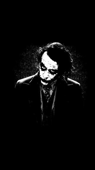 小丑 黑白 恐怖 蝙蝠侠