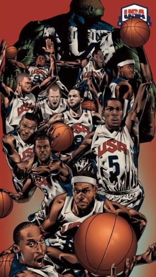 美国 梦之队 篮球 NBA