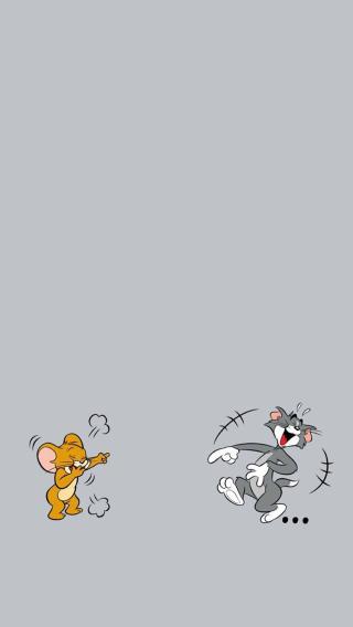 猫和老鼠 灰色