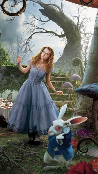 爱丽丝梦游仙境 童话 电影