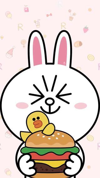 可妮兔 卡通 动漫 插画