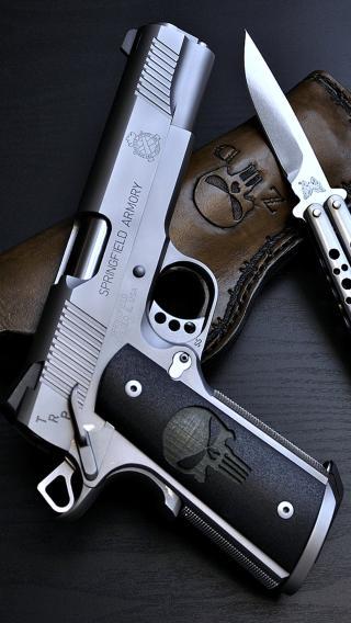 手枪 小匕首 军用 战争 武器