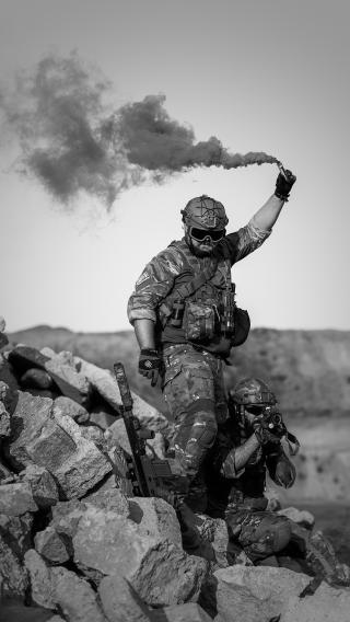 军人 黑白 硝烟 士兵 战争