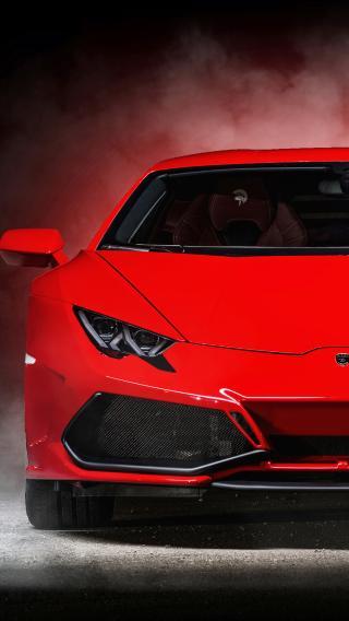 红色 名车 法拉利 跑车