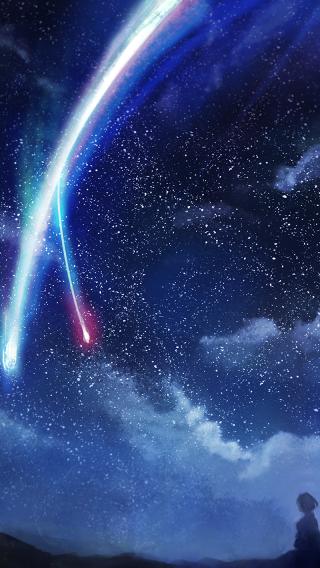 星空 风景 景色 天空
