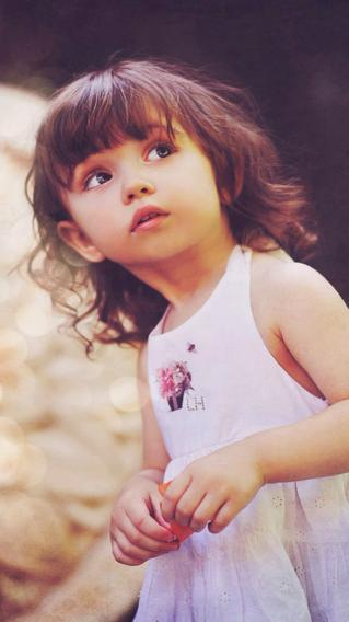 小女孩 萝莉 儿童 萌宝