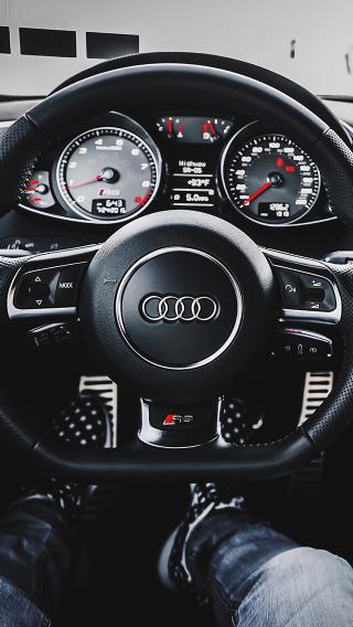 方向盘 奥迪 Audi
