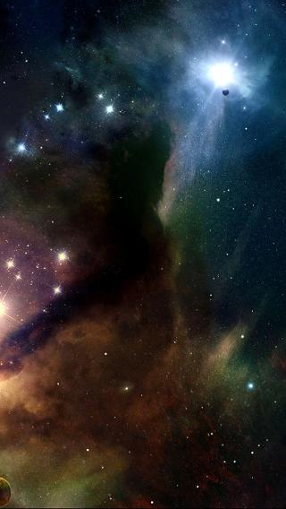夜空 星球 太空