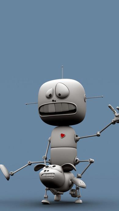 动漫 机器人 搞笑 可爱 外星人 蓝色