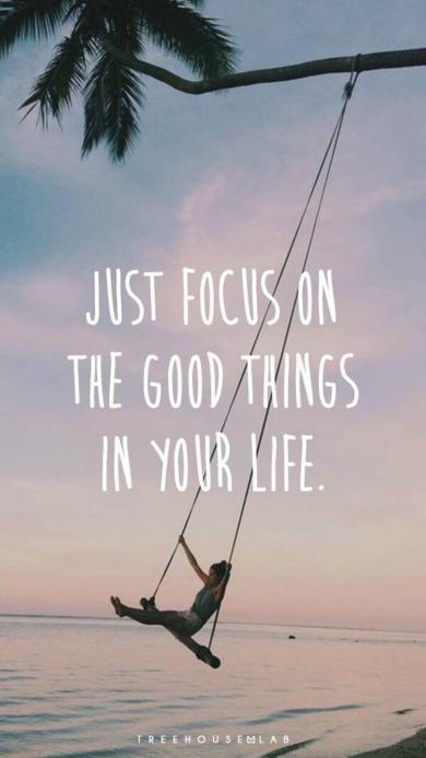 秋千 Just focus on the good things in your life