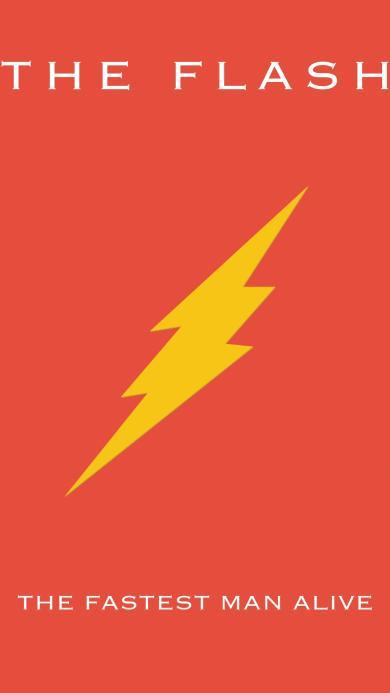 the flash 闪电侠 红色