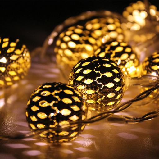 球 灯 发光 节日