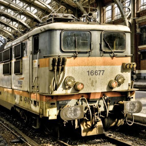 火车 铁轨 铁路 复古 老旧