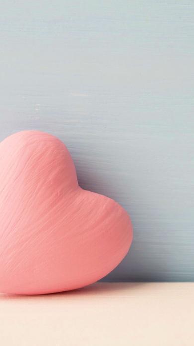 粉色 心形抱枕