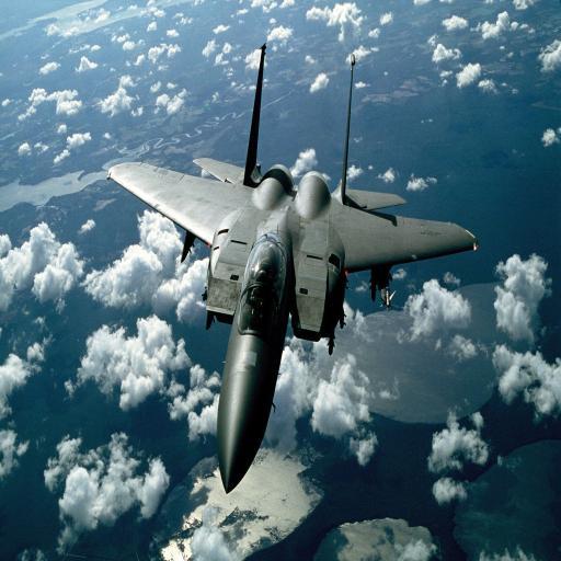 昆式战斗机 飞行 蓝天