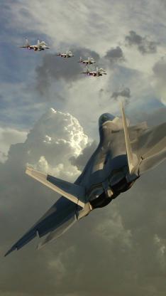 战斗机 军事 天空