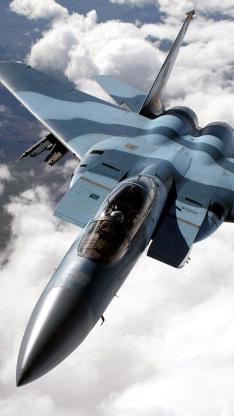 战斗机 天空 蓝色