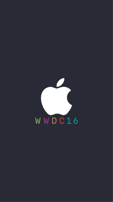 苹果logo WWDC16