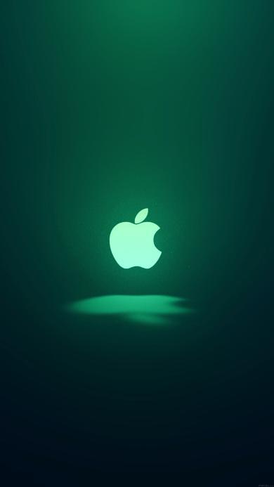 苹果logo 绿色