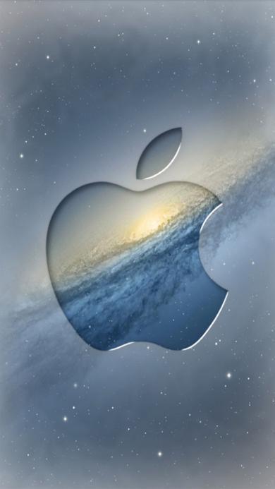 苹果logo 凹 宇宙