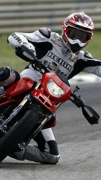 摩托车 赛车 红色