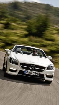 奔驰 名车 白色