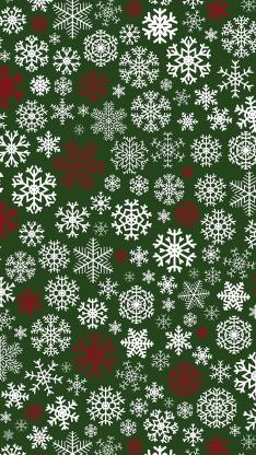 圣诞 merry christmas 雪花 绿色 平铺
