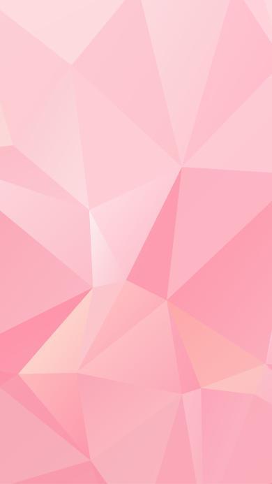 粉色 几何 图形 三角形 渐变 浪漫