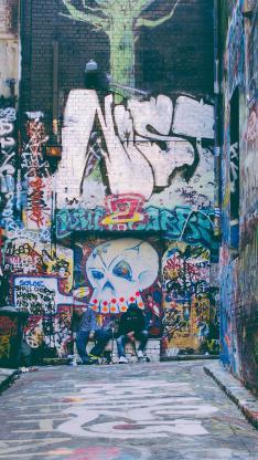 城市 涂鸦 街头文化 freestyle