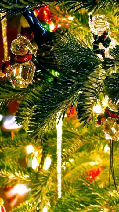 圣诞树 礼物 挂件
