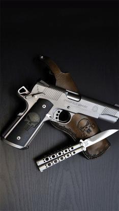 军事 枪支弹药 匕首