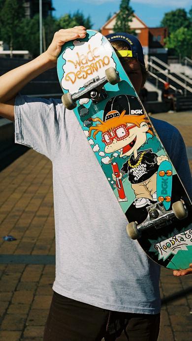 滑板 涂鸦 运动 体育 男孩 街头