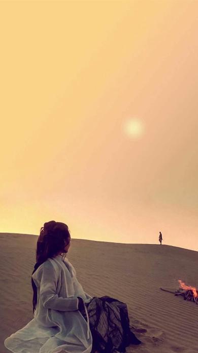 朱茵 沙漠 大话西游 月光宝盒