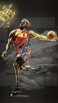 NBA 篮球 体育 运动 詹姆斯