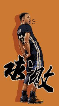 求败 库里 NBA 球星