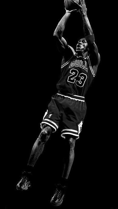 NBA 乔丹 黑白 公牛 23号