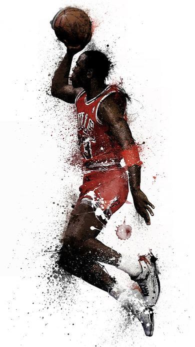 漫画 创意 黑白 篮球 NBA