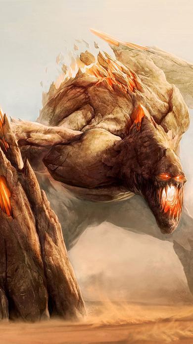 炎魔 游戏 网游 怪兽 怪物