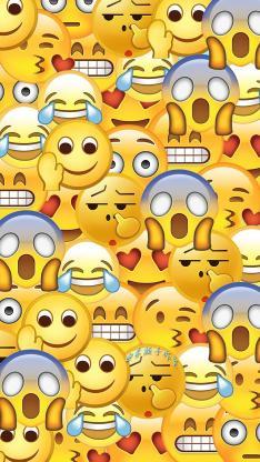 平铺 emoji 表情