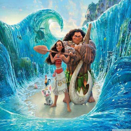 电影 动画 迪士尼 海洋奇缘 大海