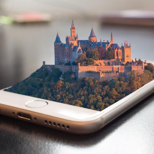 iphone创意广告 3D模型