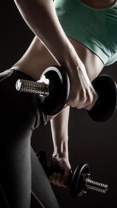 哑铃 运动 健身 体育 身材