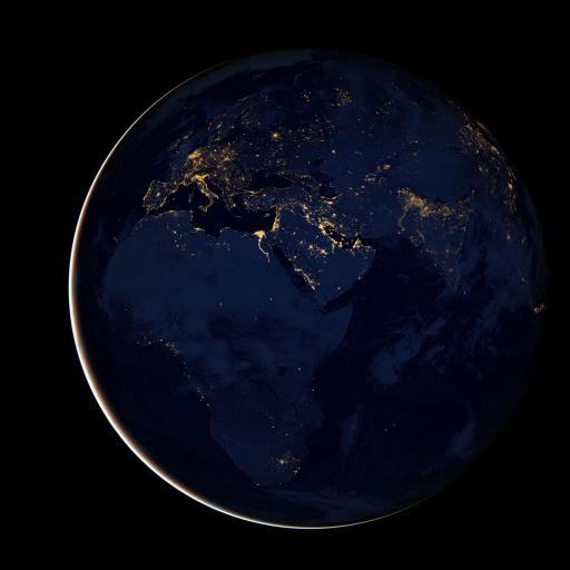 星球 地球 宇宙 蓝色 太空
