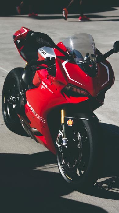 名车 赛车 摩托车 红色
