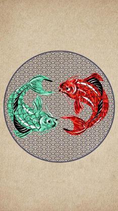年年有余 鱼 锦鲤 年 春节 节日