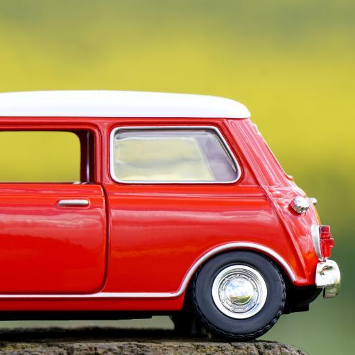 模型 车 自动 运输 红色 马达 交通 迷你 车辆 汽车 红车 机 车道 车轮 路