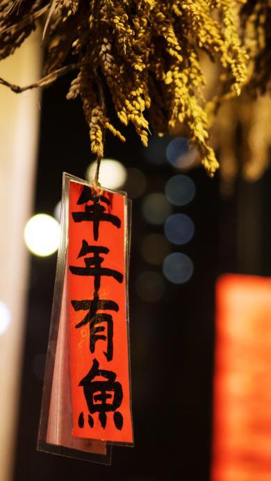 年年有余 丰收 春节 过年 喜庆 祈福 新年